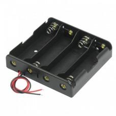18650 Battery Holder for 4 Battery