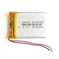 3.7V 500mAH (Lithium Polymer) Lipo Rechargeable Battery