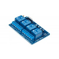 4 Channel 5V Relay Module with Optocoupler