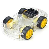 4 Wheel Robot Chassis Kit