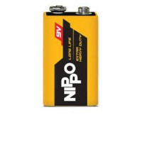 NIPPO 9V Rectangular Battery