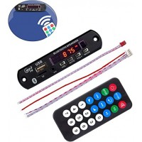 Bluetooth MP3 Decoding Board Module with inbuilt SD Card Slot / USB / FM / and Remote Control