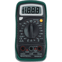 Original Mastech MAS830L Digital Multimeter – Multimeter with Probes