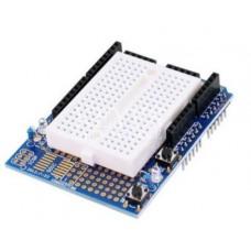 UNO Proto Shield prototype expansion board with SYB-170 mini breadboard