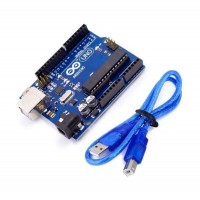 Arduino Uno R3 and Cable for Arduino Uno