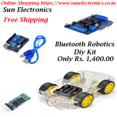 Bluetooh Robotics Car Diy Kit