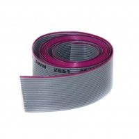 Gray Flat Ribbon Cable 20 wires per 1 meter