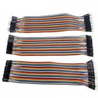 Jumper Wires Male-Male, Male-Female, Female-Female -120 Pieces