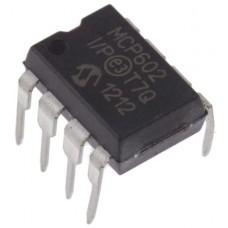 MCP602-I/P Microchip, Op Amp, RRO, 2.8MHz, 3 V, 5 V, 8-Pin PDIP
