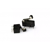 Micro Limit Switch Round Handle 3 Pin N/O N/C for 3D Printers – 2Pcs