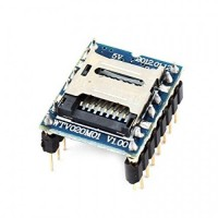 Mini SD Card MP3 Sound Module For PIC Arduino WTV020-SD