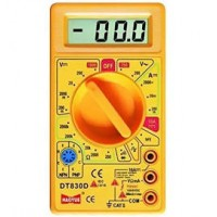 Small Digital Multimeter, Yellow