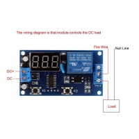 Multifunction Delay Time Module Switch Control Relay Cycle