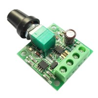 DC Motor PWM Speed Regulator 1.8V, 3V, 5V, 6V, 12V-2A speed control switch function