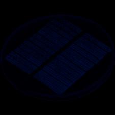 5V .5W Round Style Polycrystalline Solar Panel Epoxy Board
