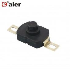 Mini 1A 30VDC 2pin Flashlight on off Switch Push Button
