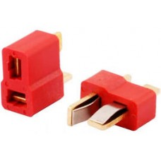 T Plug Deans Connector  Male and Female Pair