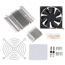 Thermoelectric Peltier Refrigeration Cooling System DIY Kit with Peltier Module