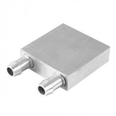 Water Liquid Cooler Block Aluminum Heatsink 40x 40 mm