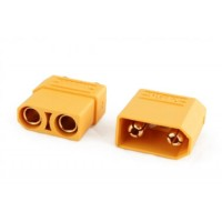 XT90 Connectors - Male/Female Pair