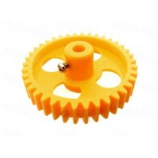 Yellow 38 Teeth Plastic Spur Gear